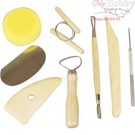 Pottery Tool Kit, 8mixed
