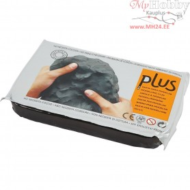 Self-Hardening Clay, black, 12x1000g