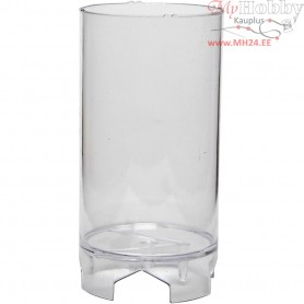 Candle Mould, size 107x62 mm, wick size 21 , Cylindrical block, 1pc