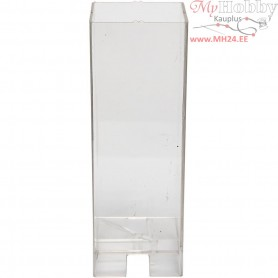 Candle Mould, size 160x60 mm, wick size 18 , Square, 1pc