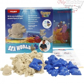 Sandy Clay®, natural, seaworld, 1set