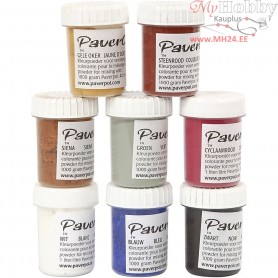 Pavercolor, 8x40ml