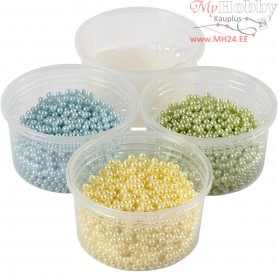 Pearl Clay®,  3x25 g,  38 g, light blue, light green, light yellow, 1set