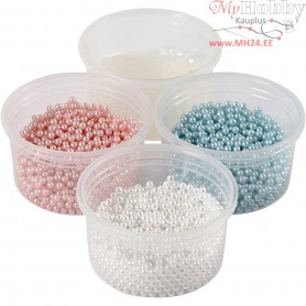Pearl Clay®,  3x25 g,  38 g, light blue, off-white, light red, 1set