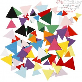 Card Mosaics, size 10+15+20 mm, triangular, 180g