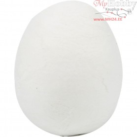 Compressed Cotton Eggs, size 18x25 mm, white, cotton, 300pcs