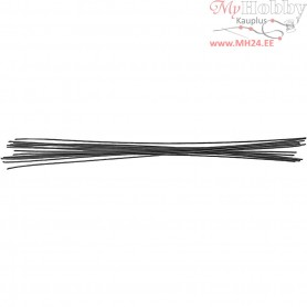 Stub Wires, thickness 0,5 mm, L: 20 cm, 1000pcs