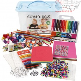 Craft Box Set, size 34x24x20 cm, 1pc