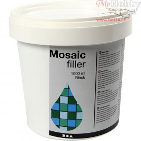Mosaic Filler, black, 1000ml