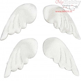 Fabric Wings, W: 27 mm, 100pcs