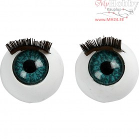 Big Eyes, size 12 mm, 6pcs
