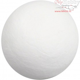 Compressed Cotton Ball, D: 50 mm, white, cotton, 50pcs