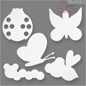 Insects, H: 10-21 cm, W: 23-27 cm, 16pcs, 230 g