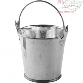 Mini Buckets, D: 55 mm, H: 50 mm, 6pcs