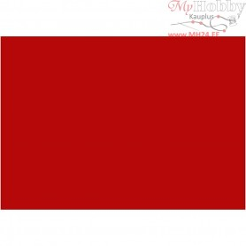 EVA Foam Sheets, A4 21x30 cm, thickness 2 mm, red, 10sheets