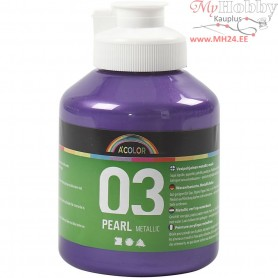 A-Color Acrylic Paint, violet, 03 - metallic, 500ml