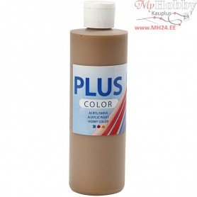 Plus Color Craft Paint, light brown, 250ml
