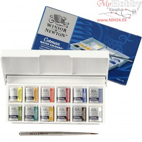 Cotman Watercolour Set, asstd colours, 1set