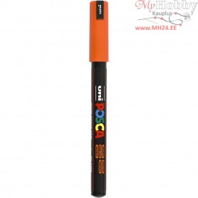 Uni Posca Marker, line width: 0,7 mm,  PC-1MR , orange, extra-fine, 1pc