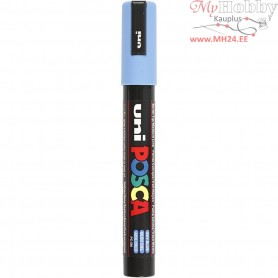 Uni Posca Marker, line width: 2,5 mm,  PC-5M , sky blue, medium, 1pc