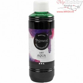 Liquid WaterColour, green, 250ml