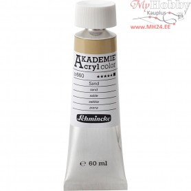 Schmincke AKADEMIEĀ® Acryl color, buff titanium deep (660), opaque, , 60ml