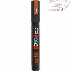 Uni Posca Marker, line width: 2,5 mm,  PC-5M , bronze, medium, 1pc