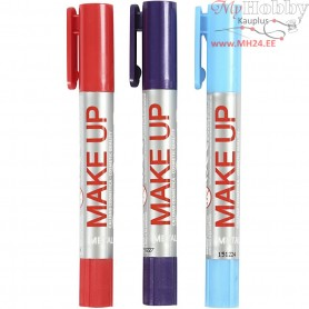 Playcolor Make Up, light blue, purple, red, princess, 3x5g