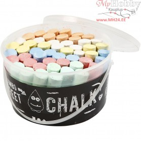 Sidewalk Chalk, asstd colours, 50pcs