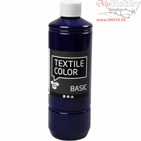 Textile Color Paint, brilliant blue, 500ml
