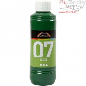A-Color Glass Paint, brilliant green, 250ml