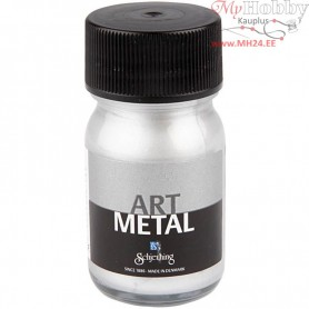 Art Metalic Paint, silver, 30ml