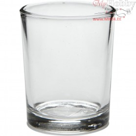 Tea Light Candle Holder, D: 4,5 cm, H: 6,5 cm, 12pcs