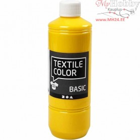 Textile Color Paint, primary yellow, 500ml