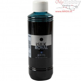 Silk Royal Paint, bluegreen, 250ml