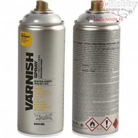 Spray Lacquer, gloss, 400ml