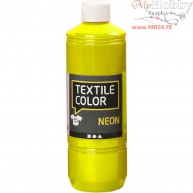 Textile Color Paint, neon yellow, 500ml