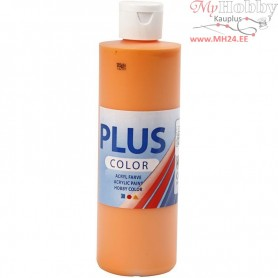Plus Color Craft Paint, pumpkin, 250ml