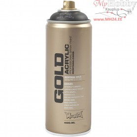 Spray paint, black, Black, 400ml