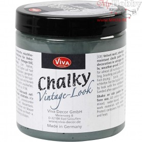 Chalky vintage look, dark green (702), 250ml