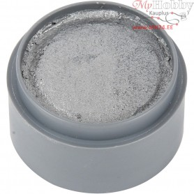 Water-based Face Paint, silver, 15ml