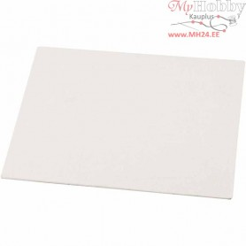Canvas Panel, A4 21x30 cm, thickness 3 mm, 280 g, 10pcs