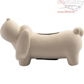 Money Dog, H: 6,5 cm, L: 13,5 cm, 8pcs