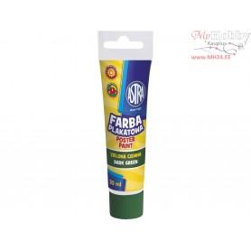 Poster paint ASTRA 30 ml tube - dark green