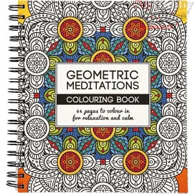 Mindfullness Colouring Book, size 19,5x23 cm,  64 pages, geometric, 1pc