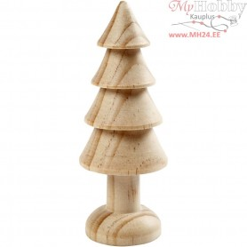 Tree, H: 10 cm, pine, 1pc