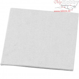 Canvas Panel, size 10x10 cm, thickness 3 mm, 280 g, 10pcs