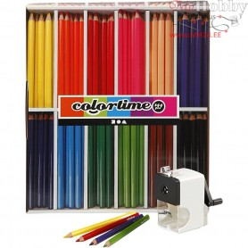 Colortime JUMBO Colouring Pencils, lead: 5 mm, class set, 1set