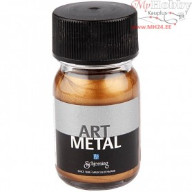 Art Metalic Paint, antique gold, 30ml