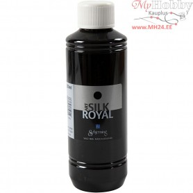 Silk Royal Paint, navy blue, 250ml
